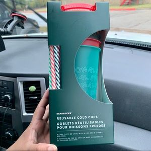 Starbucks Holiday Cold Reusable Cups 2019
